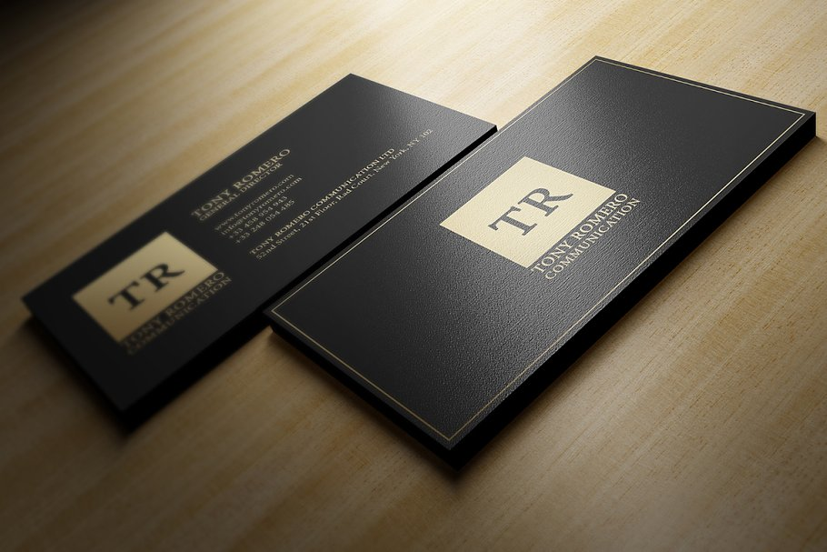 50 Golden Business Cards Bundle in Business Card Templates - product preview 3