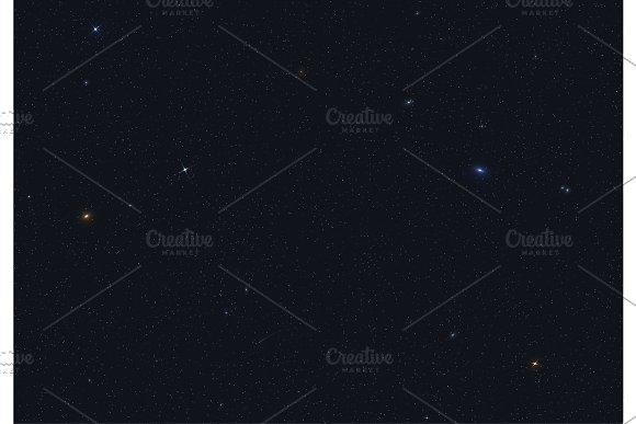 Abstract Background Starry Space Of The Cosmos The Visible Universe With Galaxies