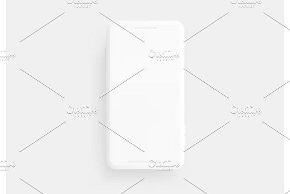 Mobile Phone Template Modern Gadget
