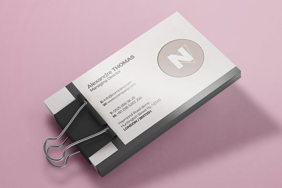 Business Card Mock-Up 4