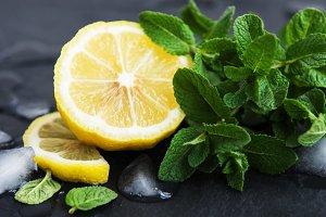Mint and lemon
