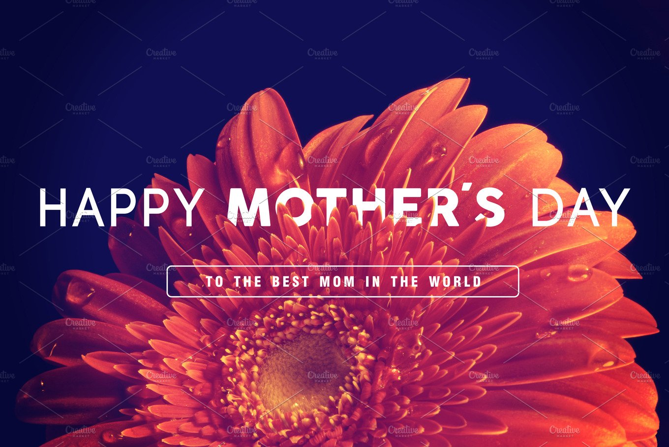 Happy mothers day greeting card people images creative market m4hsunfo