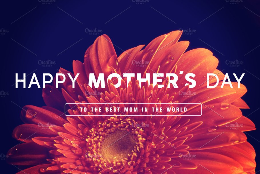 Happy mothers day greeting card people images creative market happy mothers day greeting card people m4hsunfo