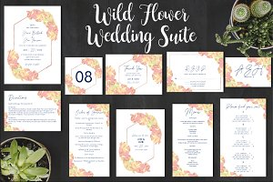 Wild Flower Wedding Collection