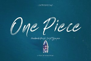 One Piece - Typeface