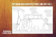 Interior&Architecture Line Art Vol.1