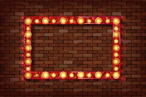 3D render Marquee light