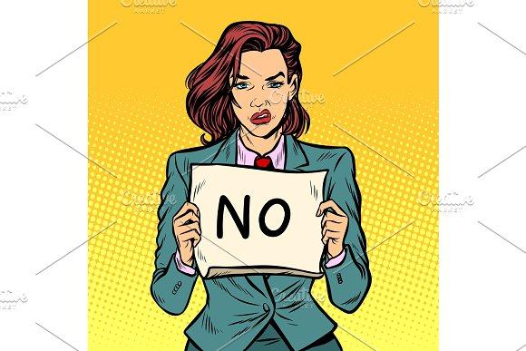 No female protest