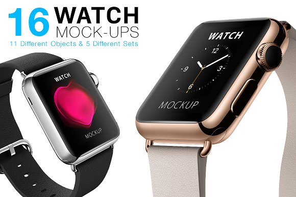 Download Apple Watch Mockups