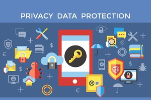 bundle of 10 privacy protection sets
