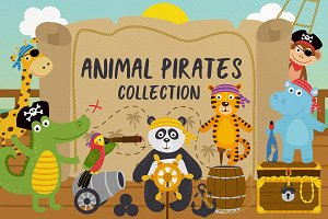 animal pirates collection