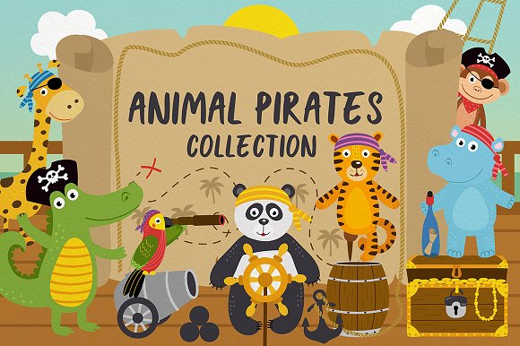 Animal Pirates Collection