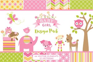 Baby Girl Design Pack