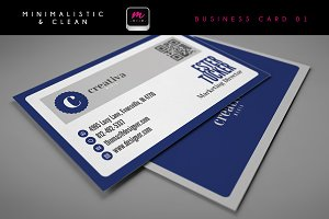 Clean Business Card Template 01