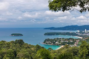 Kata Karon viewpoint at Phuket island, Thailand