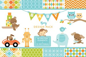 Baby Boy Design Pack