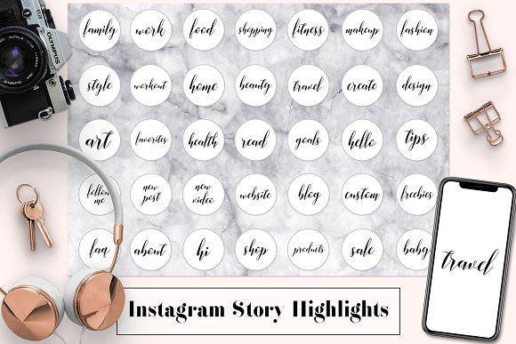 Minimal Instagram Story Covers