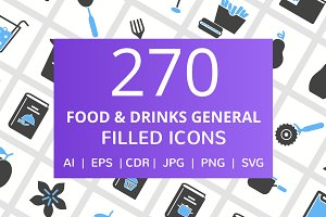270 Food & Drink General Filled Icon