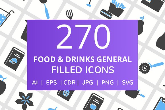 270 Food Drink General Filled Icon