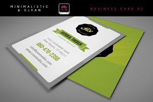 Clean Business Card Template 02
