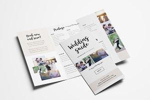 Wedding Photographer Tri-fold