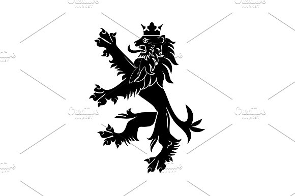 Coat Of Arms Of England Lion