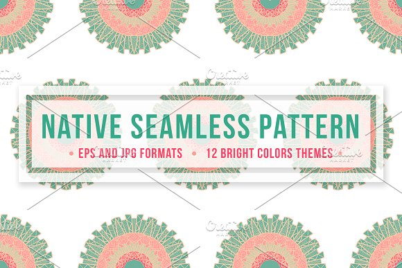 Native Seamless Pattern