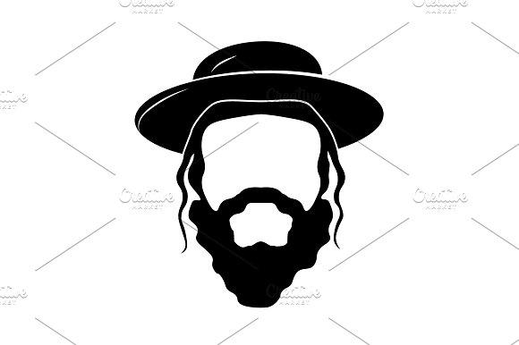 Jew The Head Of A Jew Black