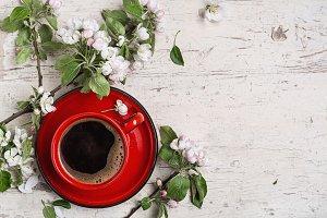 Spring coffee.