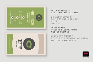Clean Business Card Template 03
