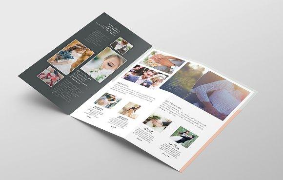 Wedding Photography Trifold Brochure Templates Creative Market