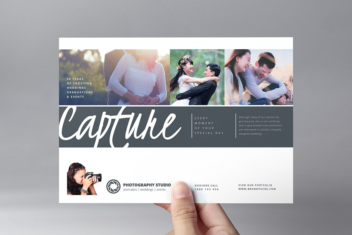 Free Photographer Pricing Guide Template Wedding