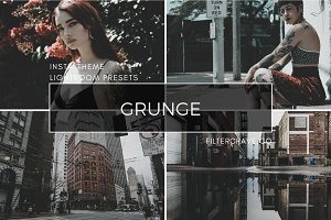 Grunge Lightroom Presets Instagram