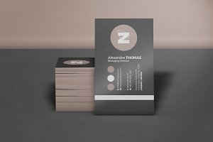 Business Card Mock-Up 6