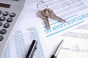 Mortgage loan and signed agraemeent