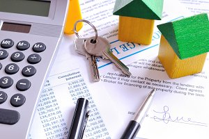 Calculation of a mortgage loan top