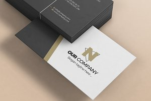 Business Card Mock-Up 7
