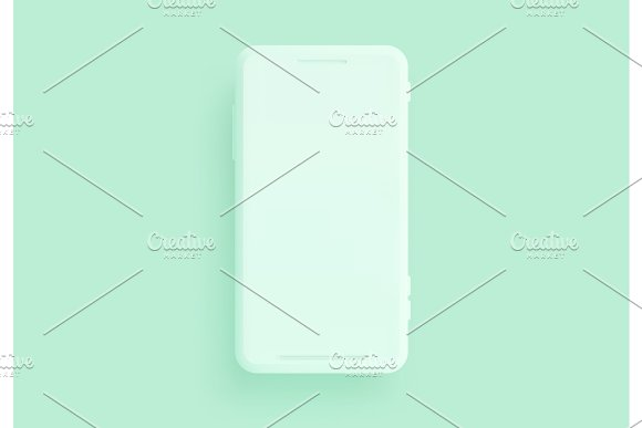 Mobile Phone Template Modern Gadget