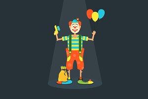 Clown robbery