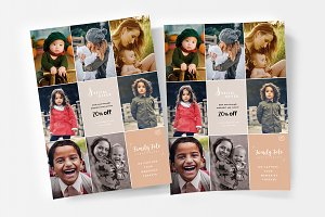 Family Photographer Poster Template