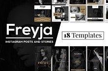 Freyja - Instagram Posts & Stories