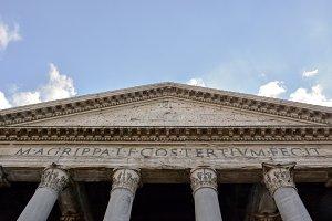 Roman Pantheon detail