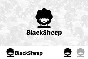 Black Sheep Simple Logo