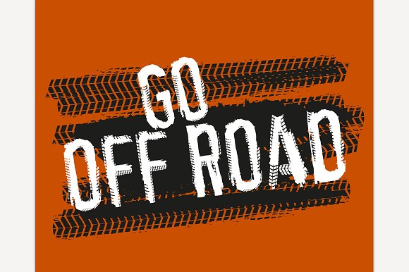Go Off Road Poster