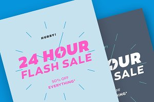 24 Hour Flash Sale Limited Offer.
