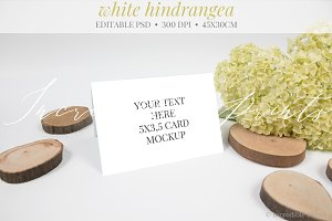 Wedding Place Card Mockup