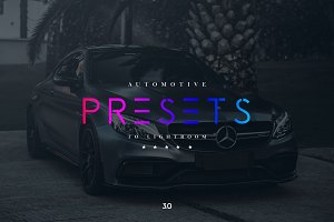 Automotive Lightroom Presets 3.0