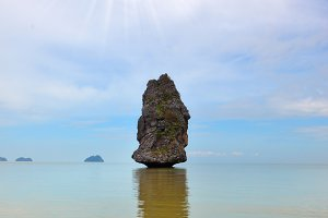 Fantastic beauty island-rock