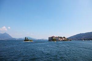 little islands in Lake Maggiore,