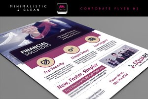 Clean Corporate Flyer Template 03